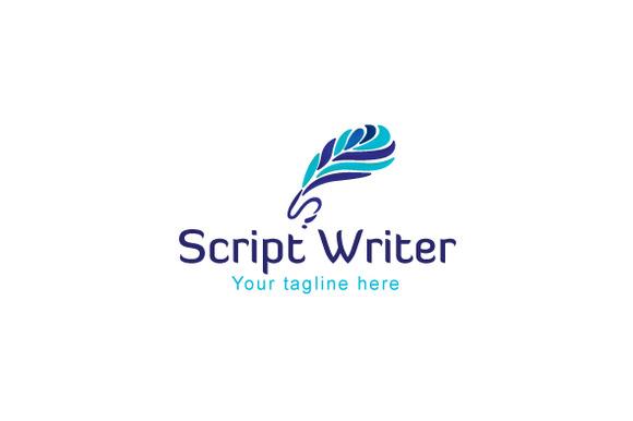 Script Writer Artistic Quill Abstr