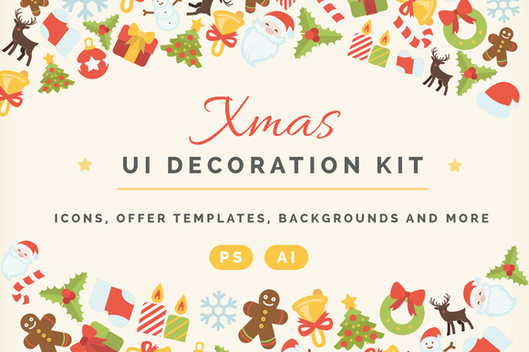 Xmas UI Decoration KIT