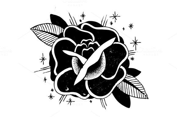 Roses Tattoo Sketch