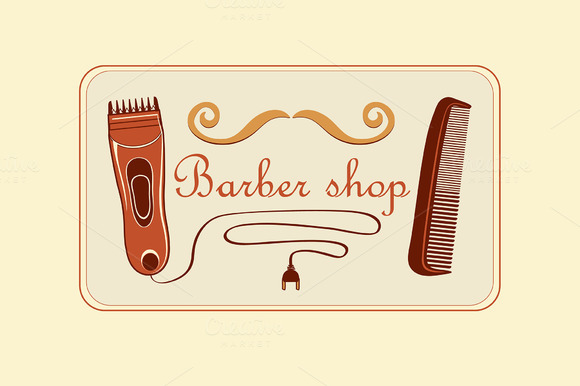 free barber shop gift certificate template designtube creative design content. Black Bedroom Furniture Sets. Home Design Ideas