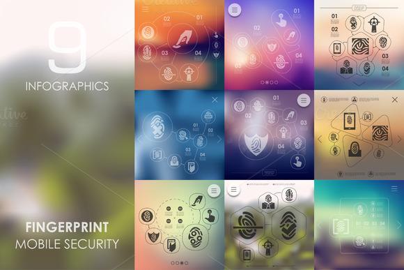 9 Fingerprint Infographics