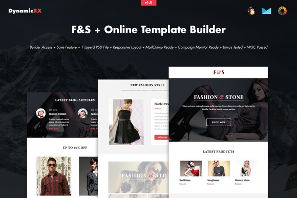 F S Online Template Builder