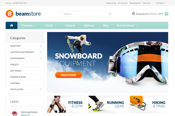 Beamstore Premium OpenCart Theme