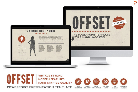 Offset Powerpoint Template