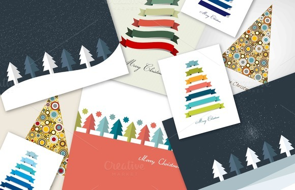 A Set Of Christmas Cards