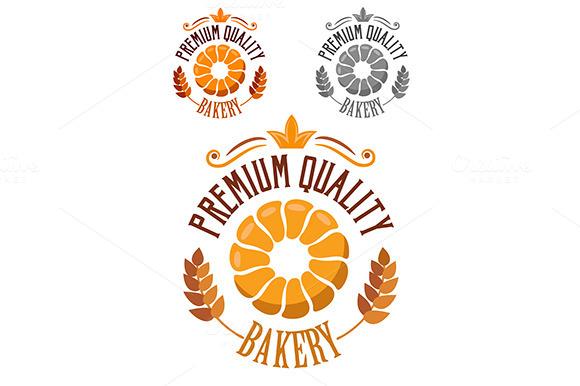 Premium Bakery Badge Or Label