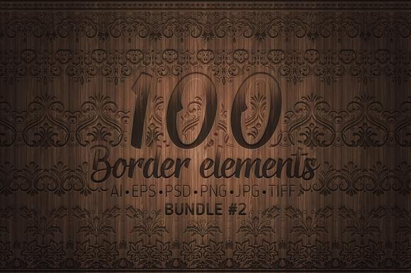 100 Border Elements Part 2