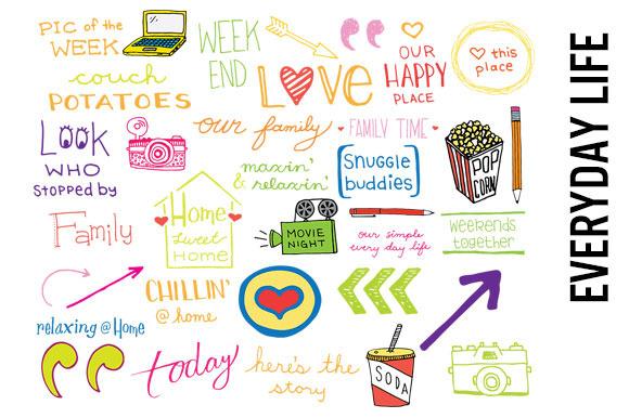 Everyday Life Scrapbooking Doodles