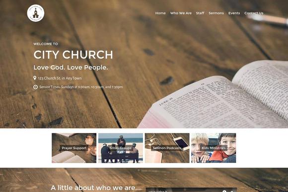 Restore Church Theme