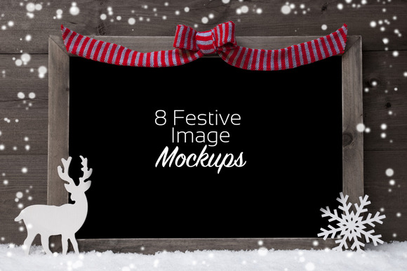 Festive Mockups