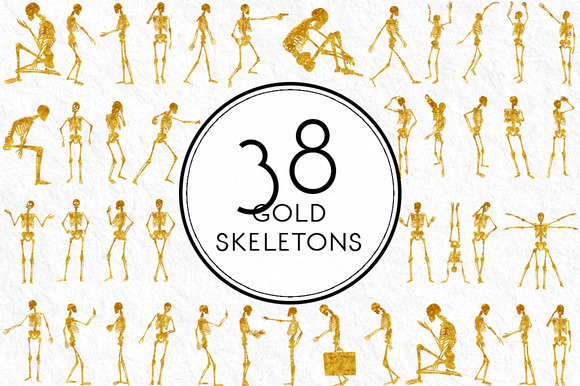 Gold Skeletons