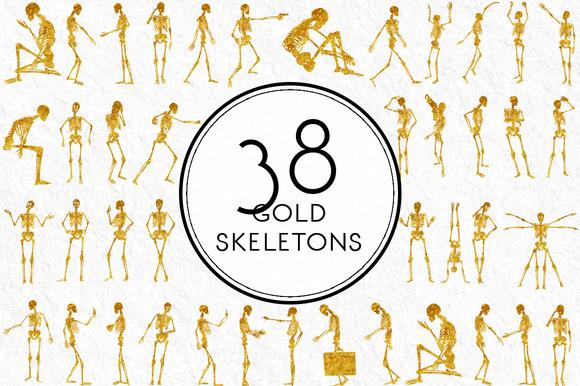 Gold Skeletons