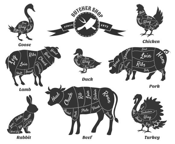 butcher logos  u00bb designtube