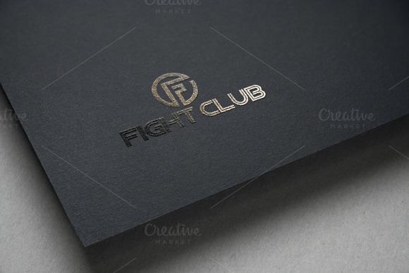 Fight Club Logo Template