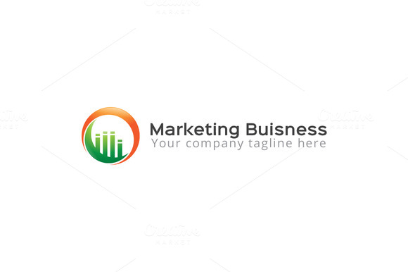 Marketing Logo Design Template