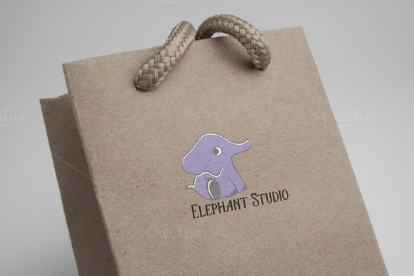 80%OFF Elephant Studio Logo Template