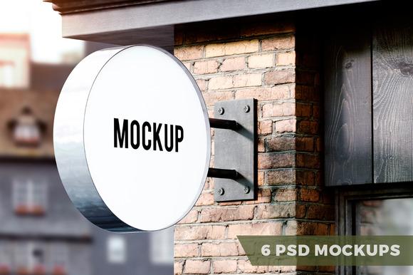 Signboard Mockups