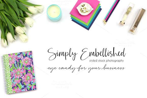 Styled Stock Photo Desktop Mockup