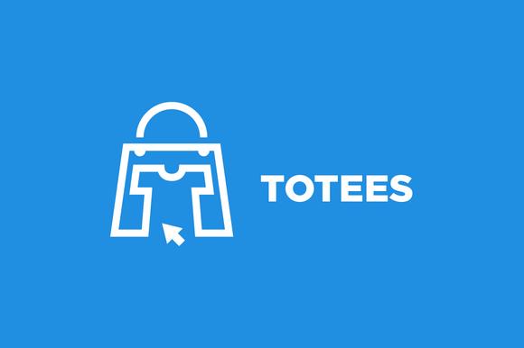 Totees Tote Bag Tshirt Logo