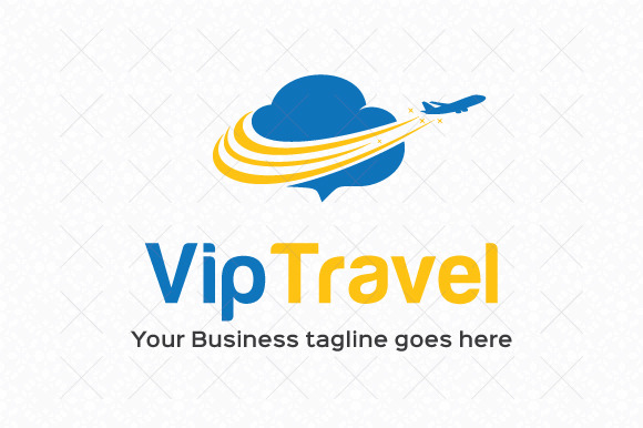 Vip Travel Logo Template