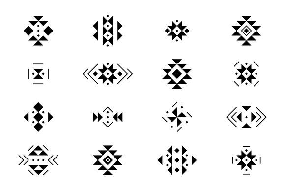 16 Tribal Elements 5 Brushes