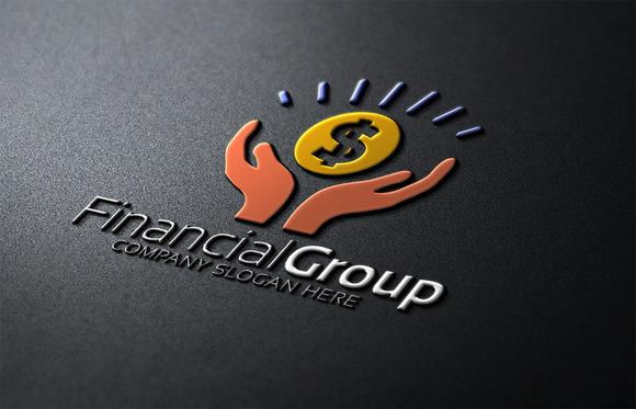 logo financial 187 designtube creative design content