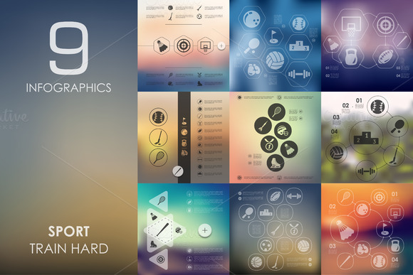 9 Sport Infographics