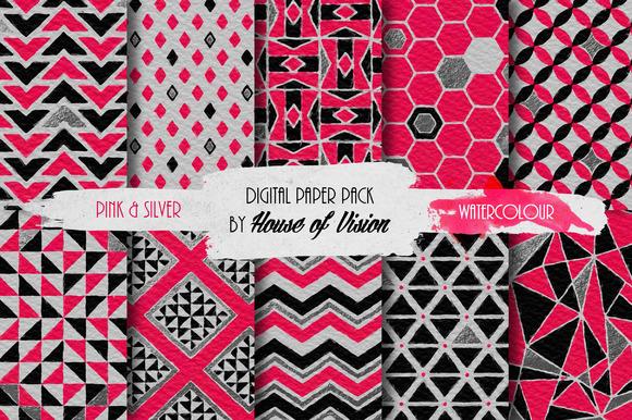 Pink Geometric Pack