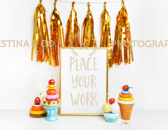 Gold Tassel And Candy Bar