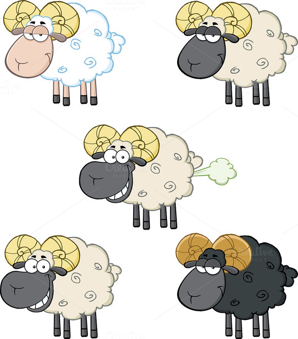 Funny Sheep Collection 2