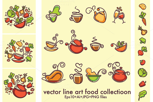 Line Art Food : Common herbivore in grasslands designtube creative