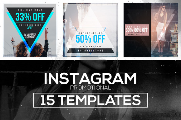 15 Instagram Templates Vol.1 Promo