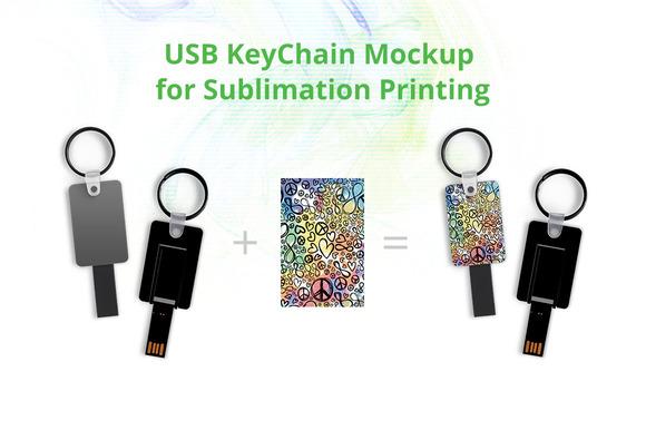USB Key Chain Mock-up
