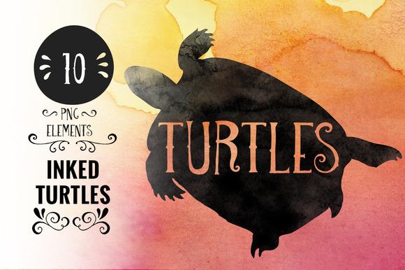 Inked Turtles