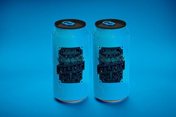330 Ml Soda Can Mock-Up 4
