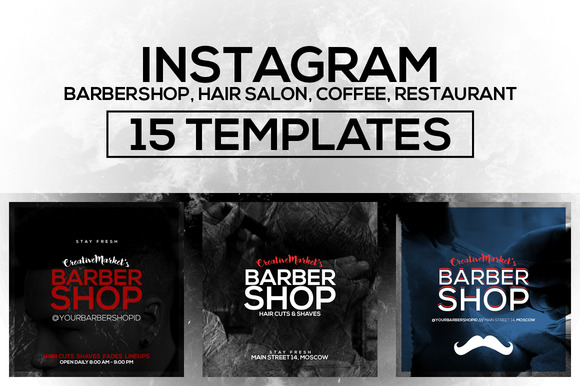 15 Instagram Templates Vol.4