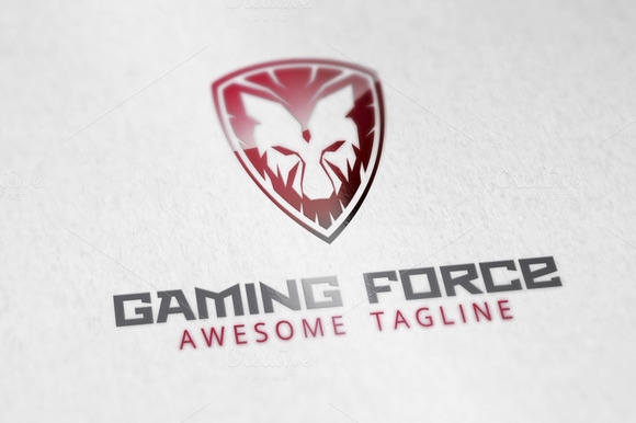Gaming Force Logo Template