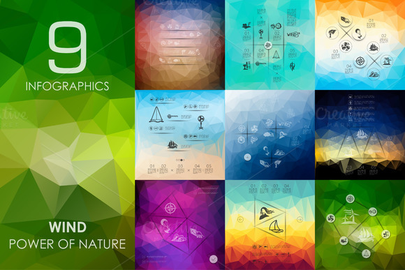 9 Wind Infographics