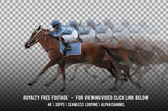 Horse Racing Red And Jockey