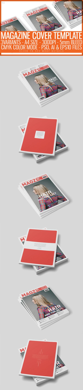 free photoshop elements baseball magazine cover template designtube creative design content. Black Bedroom Furniture Sets. Home Design Ideas