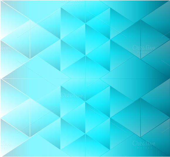 Abstract Background Triangle Blue