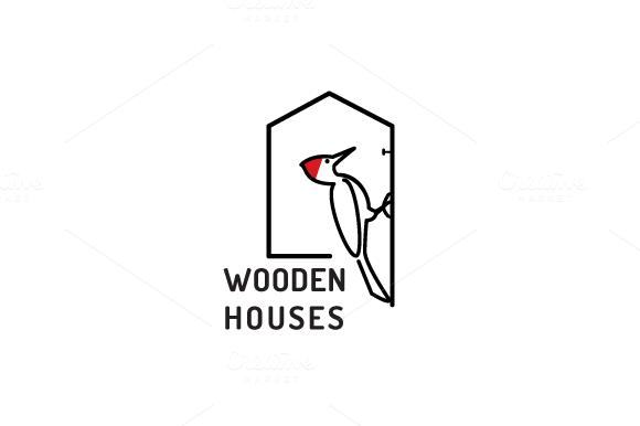 WoodenHouses Logo