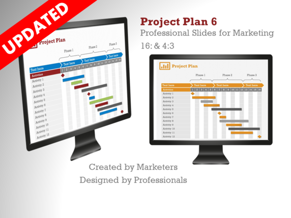 Project Plan 6 PowerPoint Template