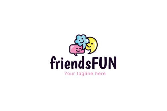 Friends Fun Talking Chatting Think