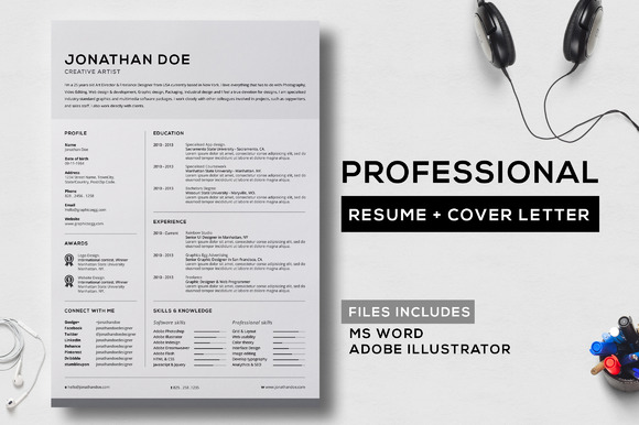 Professional Resume Cover Letter 6