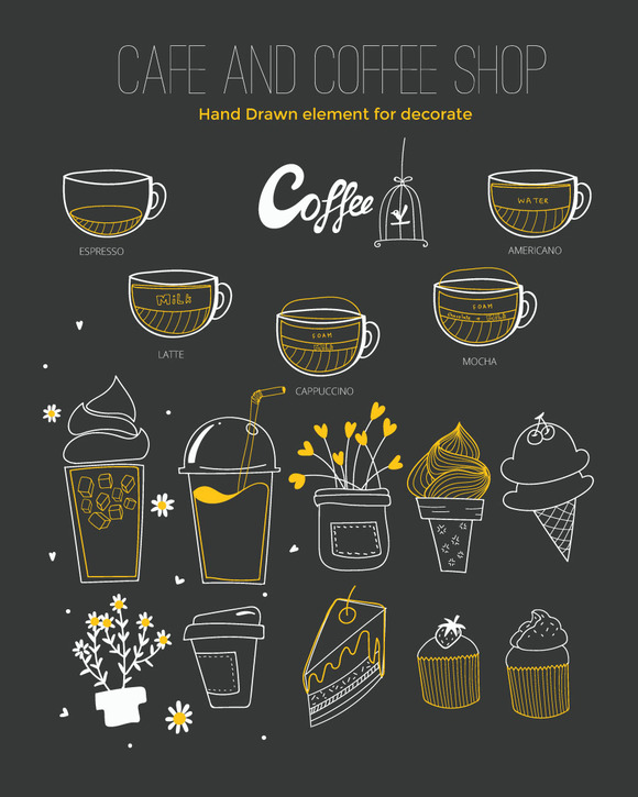 COFFEE SHOP ELEMENT