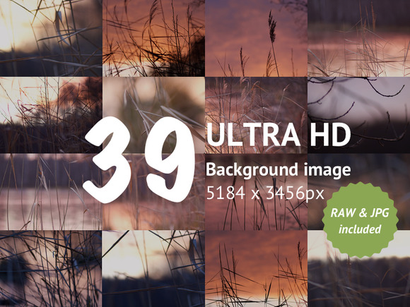 Nature Backgrounds Pack For UI