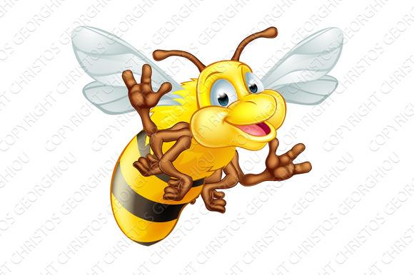 Cartoon Cute Bee