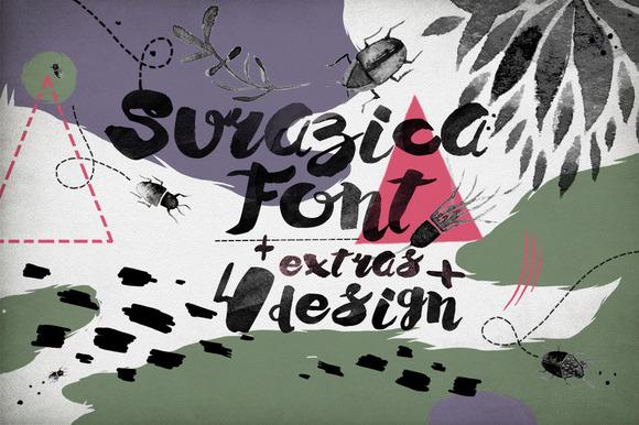 Surazica Font 4 Design