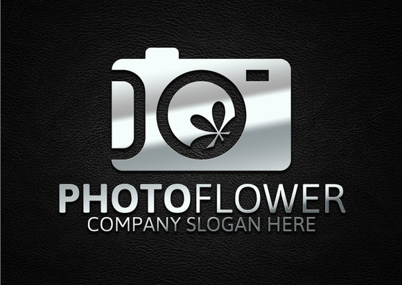 Photo Flower Logo